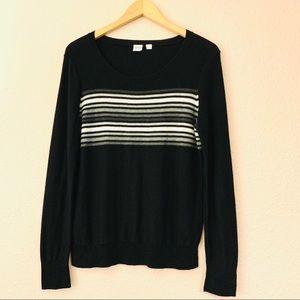 GAP Lightweight Sweater with Ombré Stripe